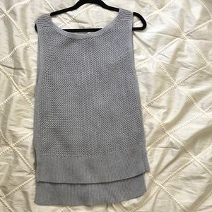 Banana Republic Grey Knit Tank Top